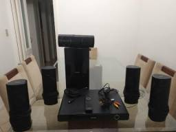 Home Theater 5.1 Philips HTS 5530 1000 Watts RMS