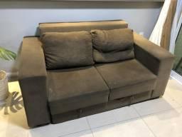 Vendo sofá retrátil usado