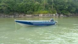 Vendo barco aluminio levefort
