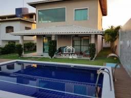 Casa de condomínio para alugar com 5 dormitórios em Jacuipe, Camaçari cod:CA0100