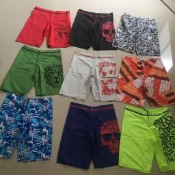 9 shorts masculino tamanho 42