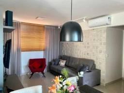 Ref:marista273 Apartamento mobiliado com 03 suítes - Brilhante condomínio Clube