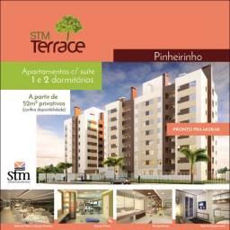 STM Terrace - Apartamento de 2 dormitórios e uma vaga de garagem!