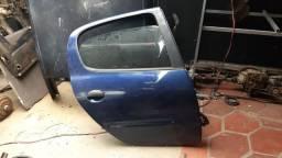 Porta traseira direita Peugeot 206 1999 a 2009