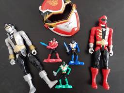 Lote bonecos Power Rangers