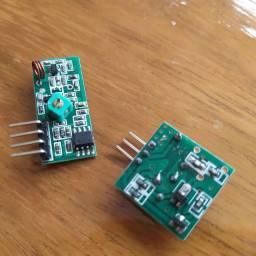 Módulo RF Receptor+transmissor 433mhz