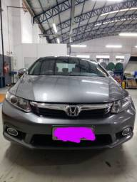 Civic LXL 2012 impecável<br>Manual