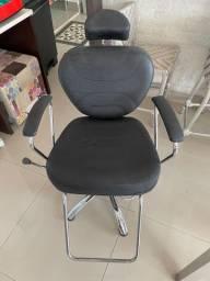 Cadeira poltrona hidráulica de salão Darus