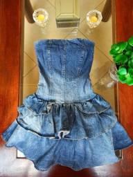 Vestido Jeans Dona Florinda Tam 40