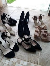 Sapatos e Sandálias Via Scarpa modelos diversos