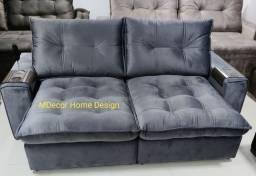 Sofá Retrátil Reclinável Alto Padrão Qualidade e conforto Extra