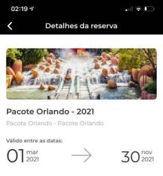 Pacote Orlando 7 diárias (aereo + hotel) 2 pessoas R$4000,00