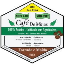Micro lote 2020. Café  cultivado sem agroquímicos.