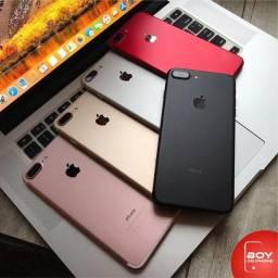 IPhone 7 Plus 128GB Silver Apple, 90 Dias de Garantia, Vitrine/Mostruario - Quinta Black -
