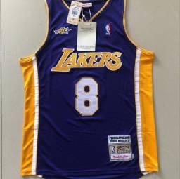 Regata Nba Basquete Los Angeles Lakers Classic Roxa - 8 Bryant