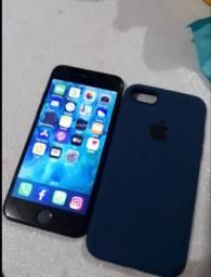 iPhone 7 black 128 gigas iCloud livre