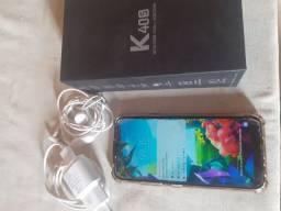 Smartphone LG K40S Novo pra hoje!