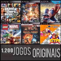 PS3 JOGOS + DESBLOQUEIO