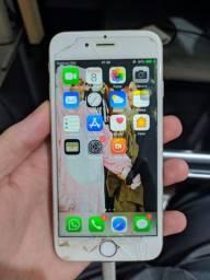 Iphone 6 64GB de armazenamento com leve defeito no touch