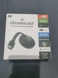 Google Chromecast (Novo) - Primeira Linha