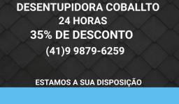 Desentupidora Coballto 35% de desconto