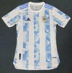 Camisa Argentina Home 2020 / 2021 - Jogador