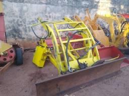Conjunto de Lamina p/ Trator CBT de 6 Cilindros - Tk Tratores Nova Andradina - MS