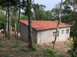 Casa com área de 1.940 m² em processo de acabamento