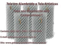 Telas em Alambrado e Artísticas