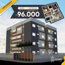 Apartamentos de 57m e 55m