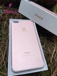 IPhone 7 Plus 32GB/ Rose- Todos acessórios + 90 dias de garantia!