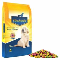 Ração Vitacãozinho Filhotes - 25 kg