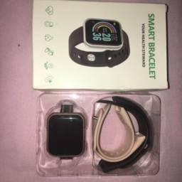 Smartwatch Y68 / D20 relógio inteligente