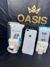 Condição Unica Iphone 8 Plus 64gb Prata Novissimo