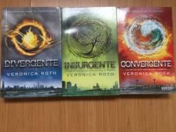 Livros da Trilogia Divergente