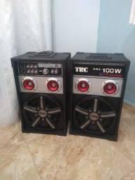 Vendo Caixa de Som TRC - 348 R.M.S 100 Watts