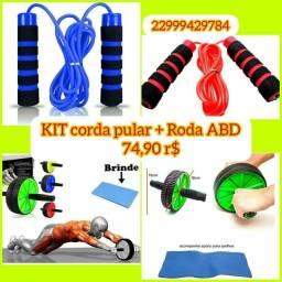 Roda ABDOMINAL + Corda fit