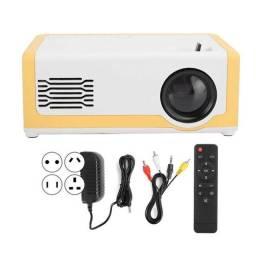 Mini Projetor M1 Portátil 1080p - Ideal Para Atividades Com os Filhos - 110-240V