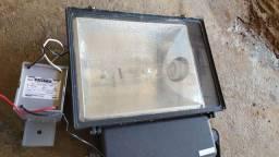 Refletor Lâmpada Vapor metálico