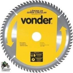 Disco De Serra Circular 185 X 20 Mm X 60 Dentes Vonder