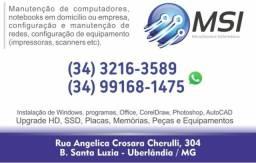 Formatação Profissional na tua casa ou Empresa Trabalhamos com Cartões