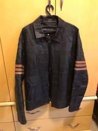 Título do anúncio: Jaqueta de couro legítimo tamanho G