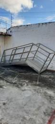 Escada em Inox tipo industrial