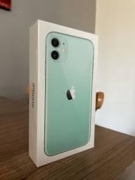 iPhone 11 64GB Verde - lacrado e com NF (LER O ANÚNCIO, por favor)