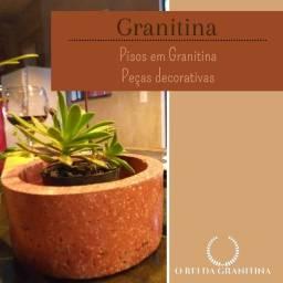 Pisos em Granitina e Peças decorativas