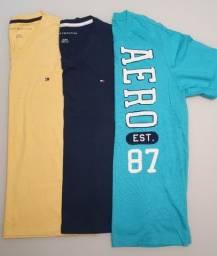 Camisetas Tommy e Aéropostale (Originais)