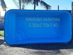 Piscinas De fibra 5.30x 2.70x1.40