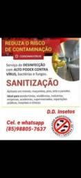 Dedetização Dedetizadora e sanitização