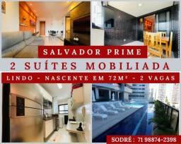 Salvador Prime - 2 Suítes - 3 banheiros - Porteira Fechada  -Extraordinario