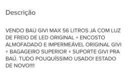 BAÚ GIVI MAX 56 LITROS